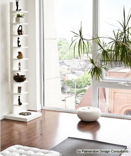 Decoraci n para un rinc n de yoga en casa yoga en casa - Meditar en casa ...