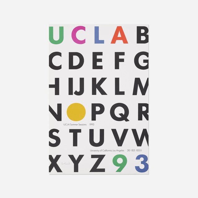paul rand ucla summer sessions poster