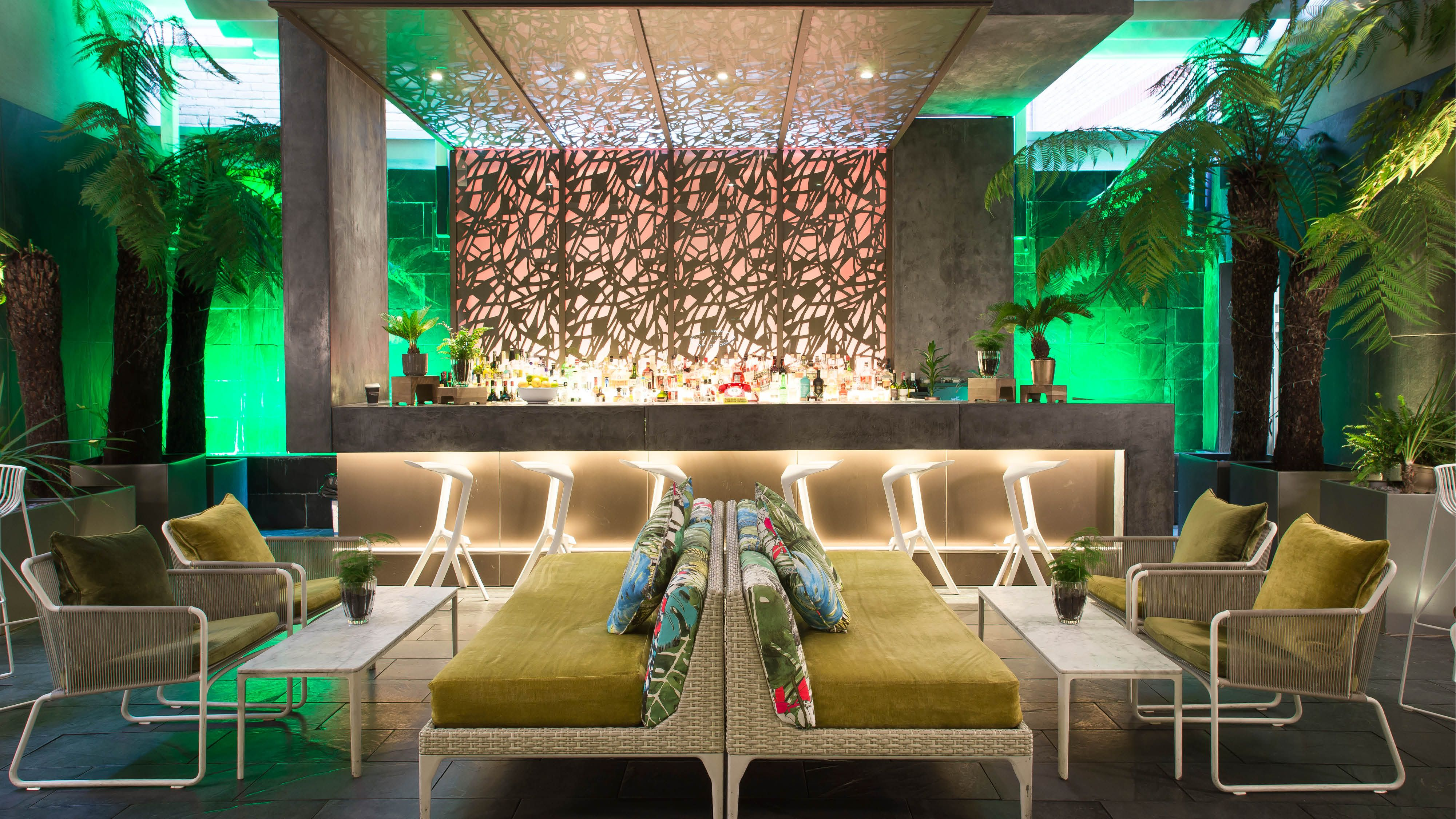 South Place Hotel. Our Secret Garden is a tropical outside bar with ...