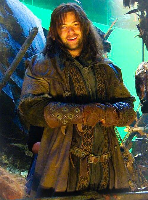 """Aidan Turner as """"Kili"""" in """"The Hobbit"""" trilogy"""