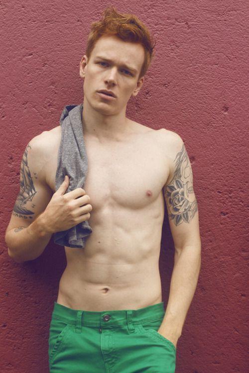 gay boys Redhead twink