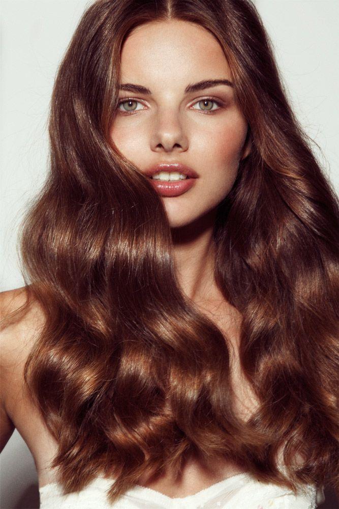 каждой модели интенсивный каштановый цвет волос фото енисей