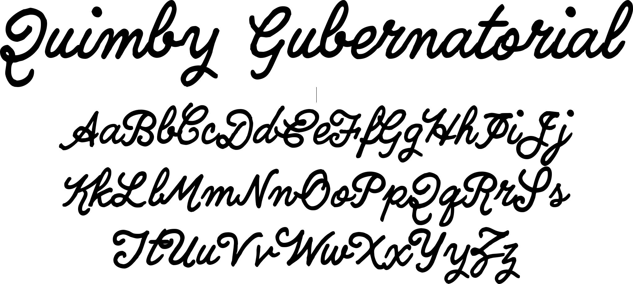Quimby Gubernatorial