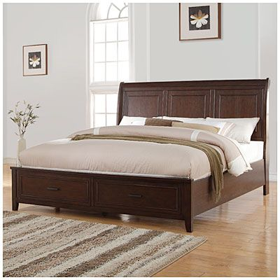manoticello king bed at big lots i love the beds with built in storage