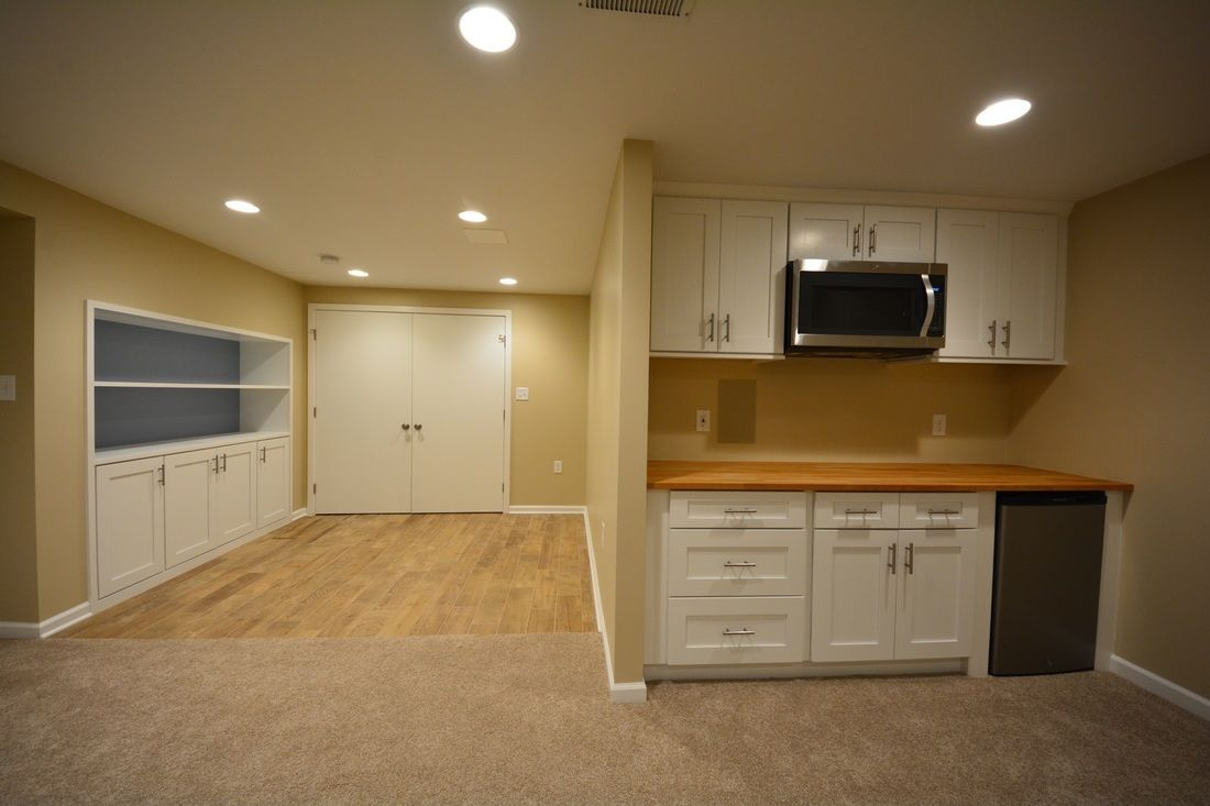 our projects 1 basement finishing and basement remodeling company in maryland