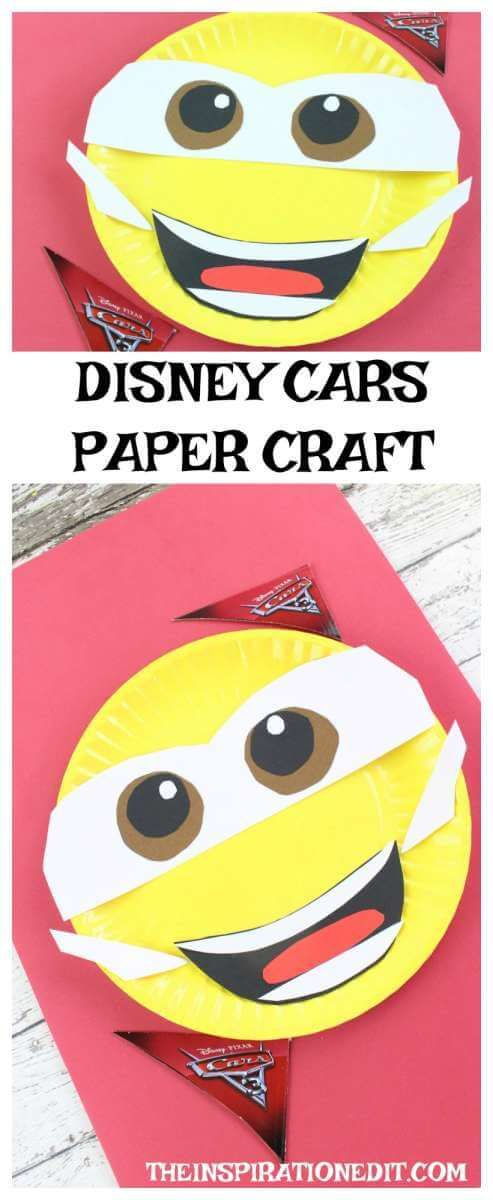 Disney Cars 3 Paper Plate Craft Disney S Cars 3 Is Out At The