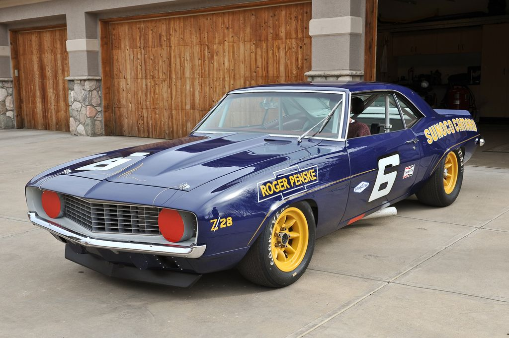 1969 Penske Donohue Trans Am Camaro With Images Camaro Camaro