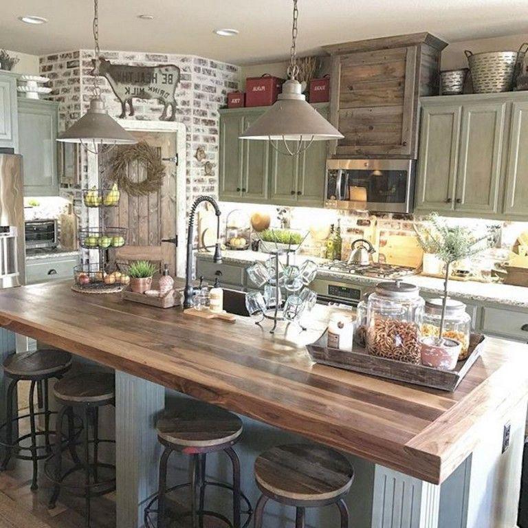 50 Small Kitchen Ideas And Designs: 50+ Awesome Farmhouse Kitchen Ideas