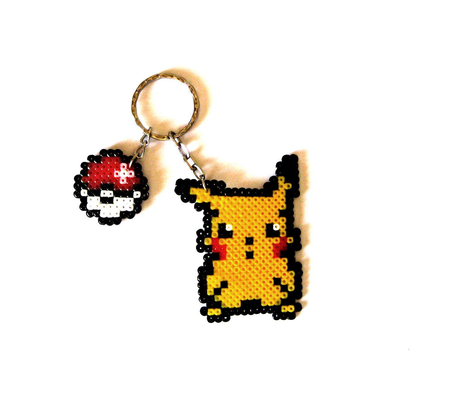 pikachu sprite keychain sprite xl brooch magnet