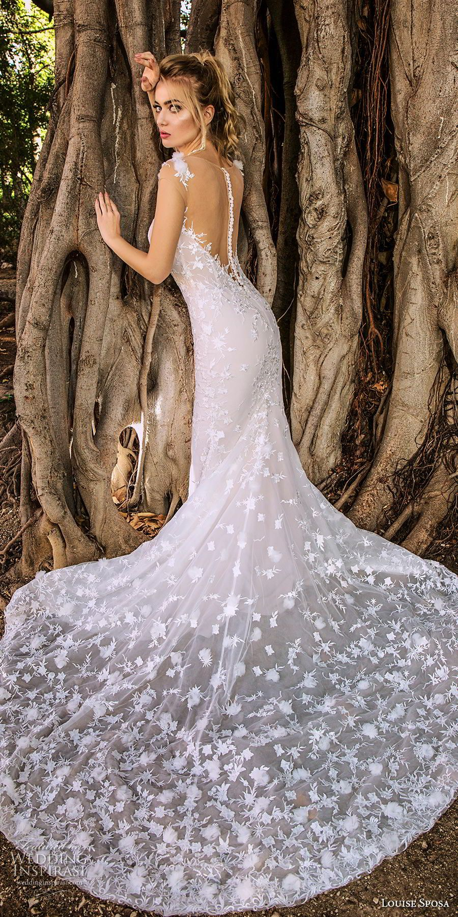 Best wedding dresses for my shape  Louise Sposa  Wedding Dresses  Dream Dress  Pinterest  Chapel
