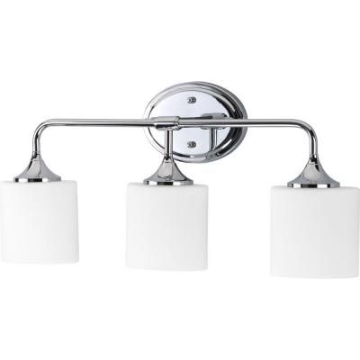 Progress Lighting, Lynzie Chrome Vanity Fixture, at The Home Depot - Tablet
