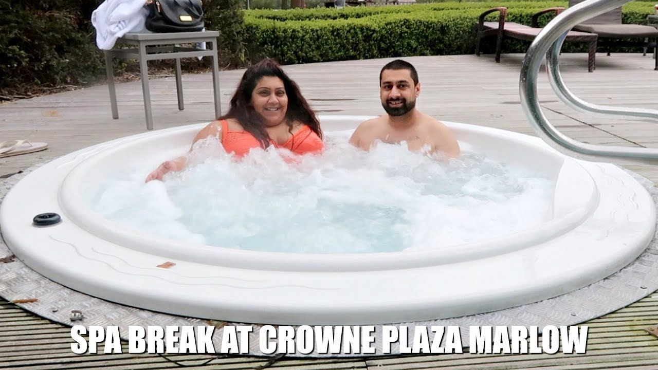 Overnight Spa Break At Crowne Plaza Marlow Nishi V Weekendgetaway Hotelreview Spa Breaks Spa Plaza