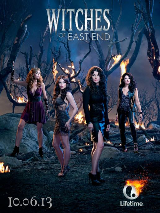 Witches of East End   Premieres on October 6 on Lifetime. The fantasy drama stars Julia Ormond, Jenna Dewan-Tatum, Rachel Boston, Madchen Amick, and Eric Winter