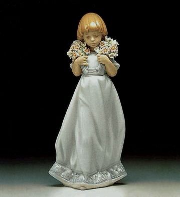 Lladro -Spring Bouquets 1987-87 Society Piece 1987 -7603 -