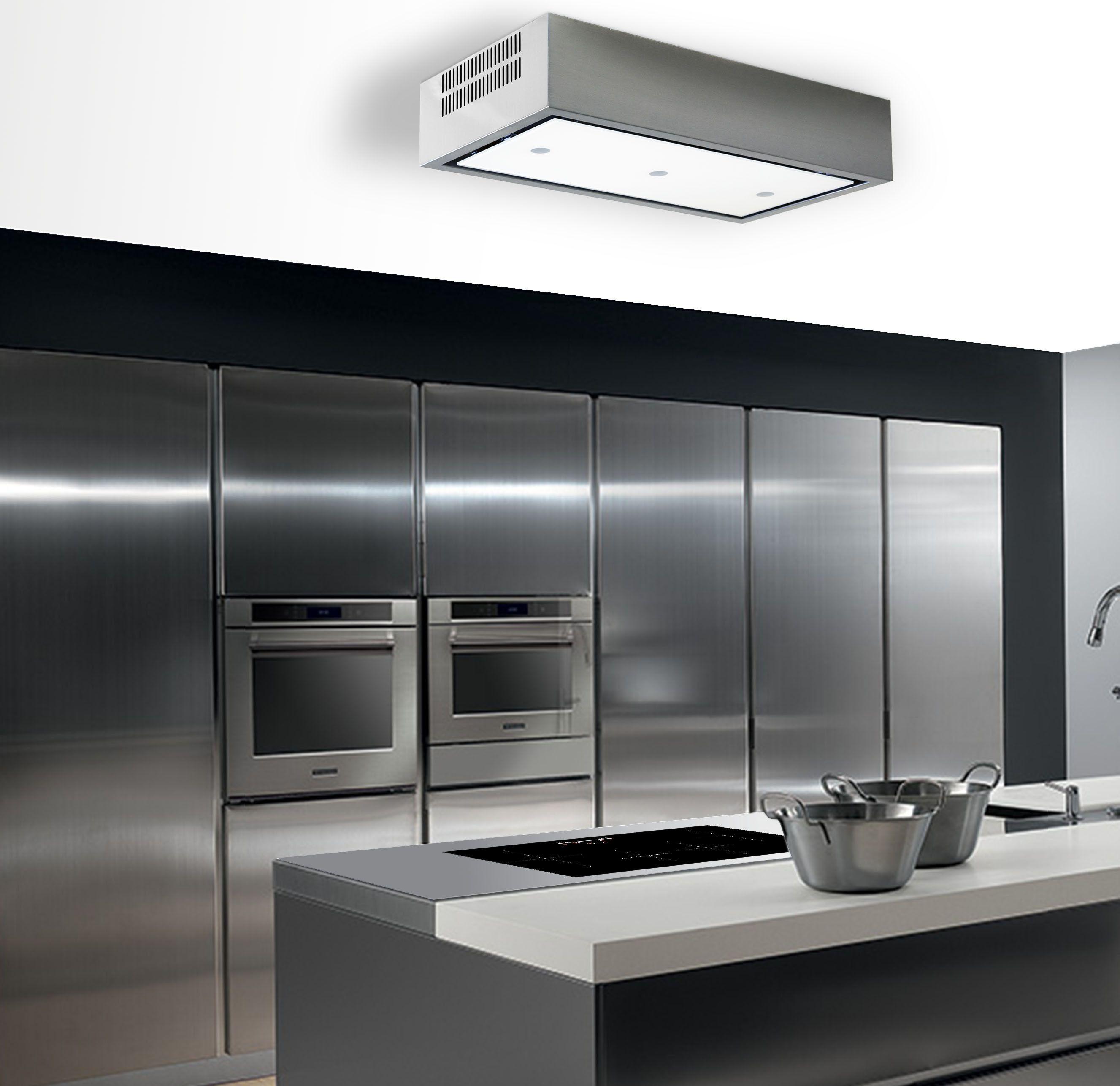 Aurora recirculating Island cooker hood-Extractair | Swindenstraat ...