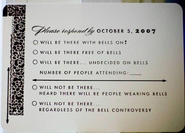 10 Hilarious Rsvp Cards Oddee Rsvp Wedding Cards Funny Wedding Invitations Rsvp Wedding Cards Wording