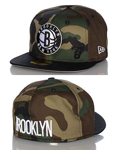 Brooklyn Nets Nba Fitted Cap Green New Era Hats For Men Flat Bill Hats Fitted Hats