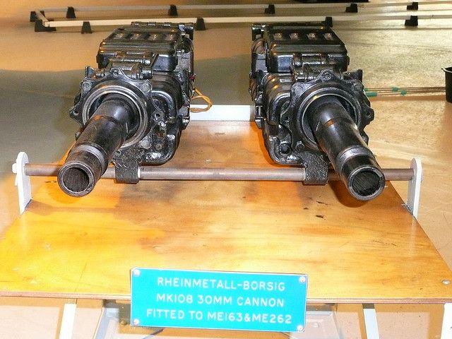 """airmanisr: """" Me 163 Komet Guns by 21reasons on Flickr. """""""