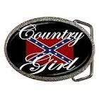 Just make the entire thing the rebel flag and make it say country girl!