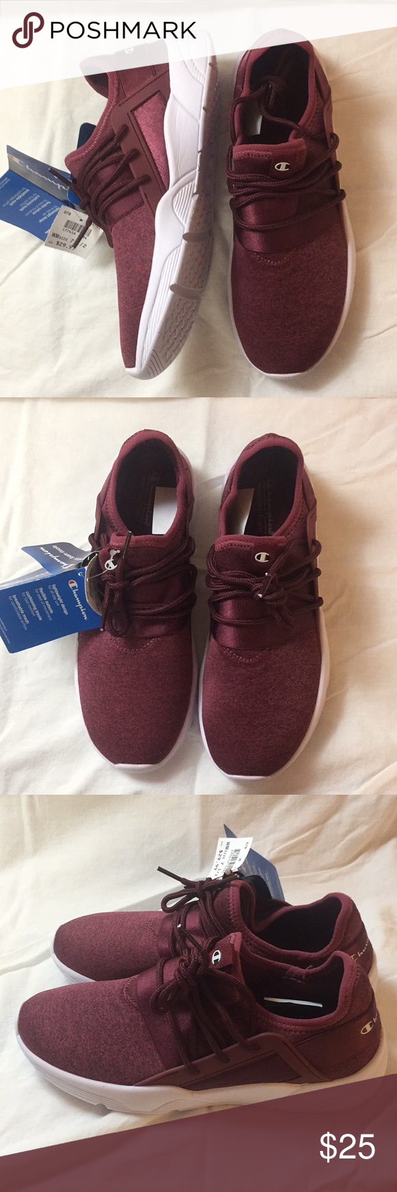 a393d47423417 Champion sneakers. Maroon color. Size 7 1 2. Maroon 7 1 2 Unused with tags  still on Champion Shoes Athletic Shoes