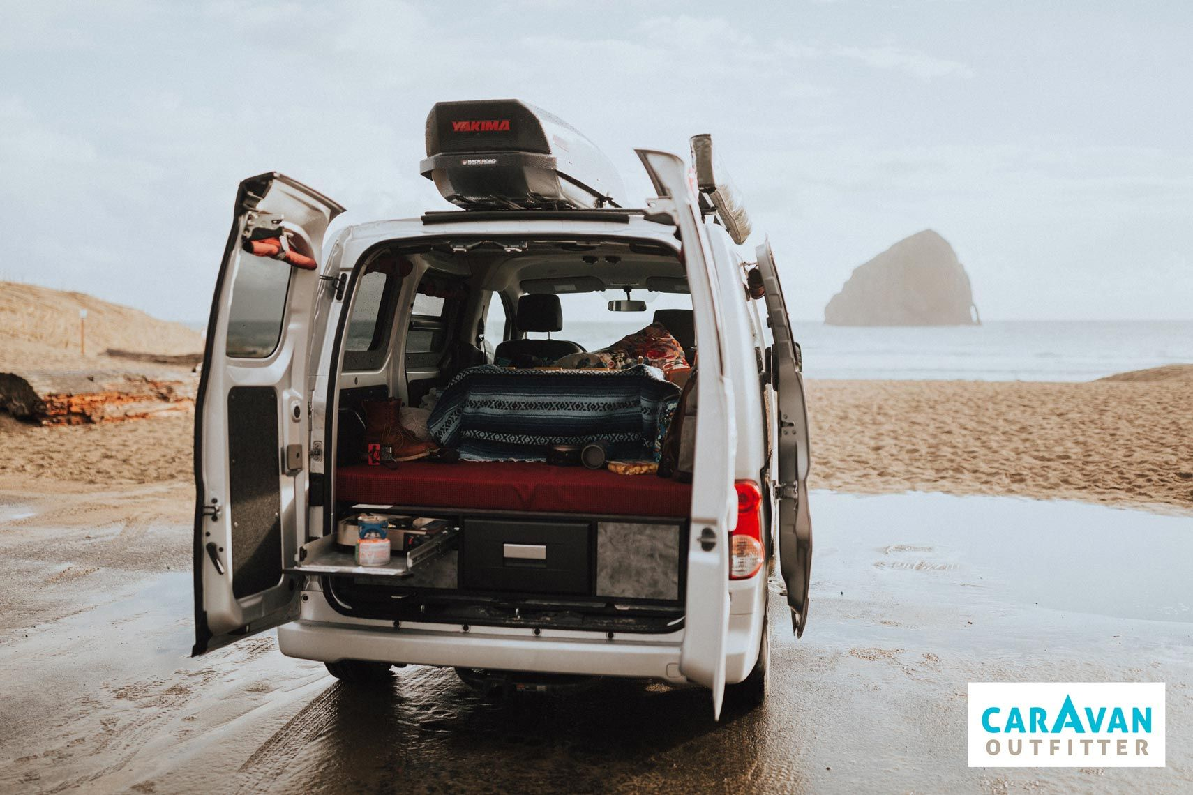 Caravan Outfitters Nissan Nv200 Free Bird Camper Improb Nissan Vans Nissan Camper