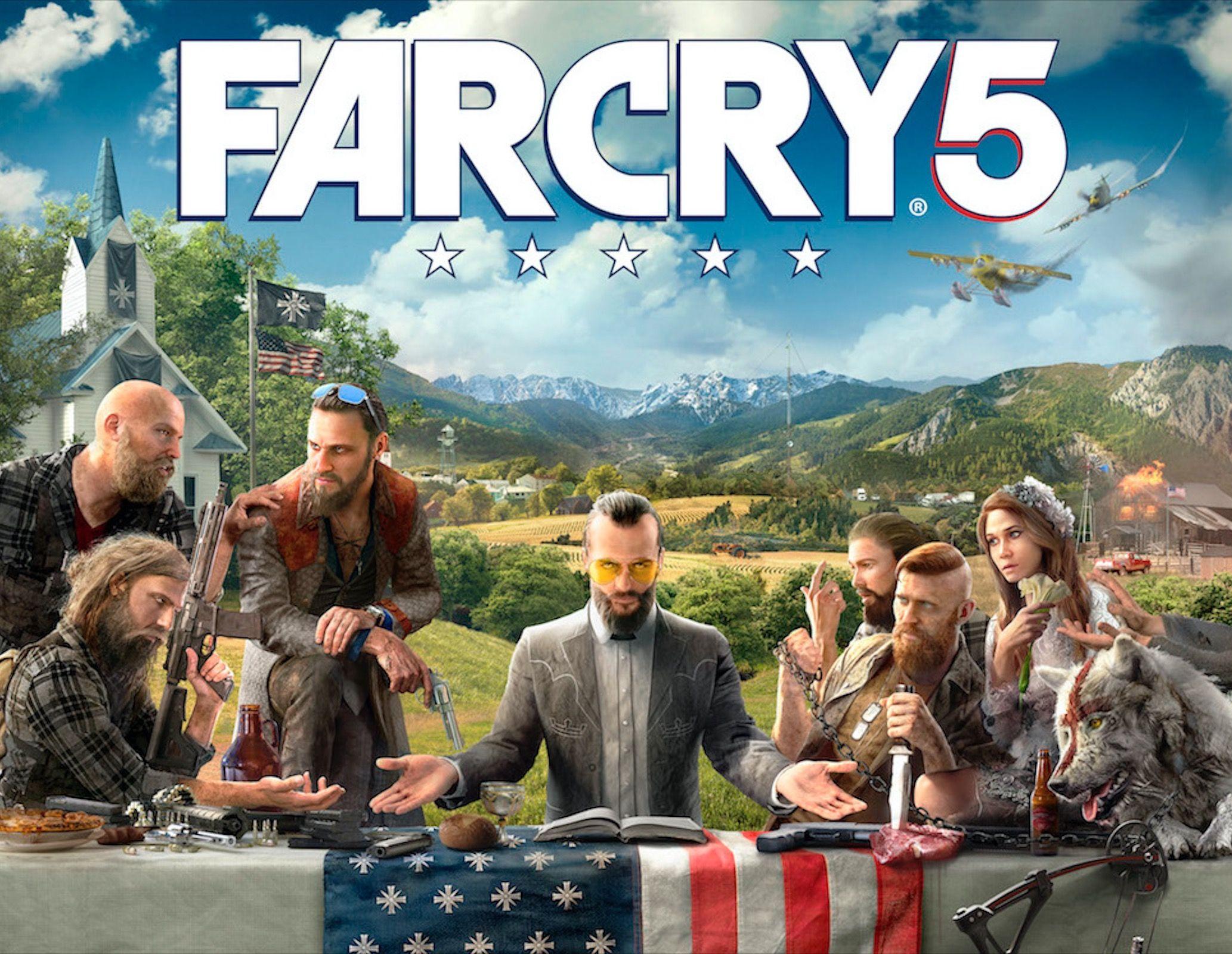 Far Cry 5 Svelata La Prima Immagine Ufficiale Gamesblog It Far Cry 5 Far Cry 5 Ps4 Far Cry 5 Game