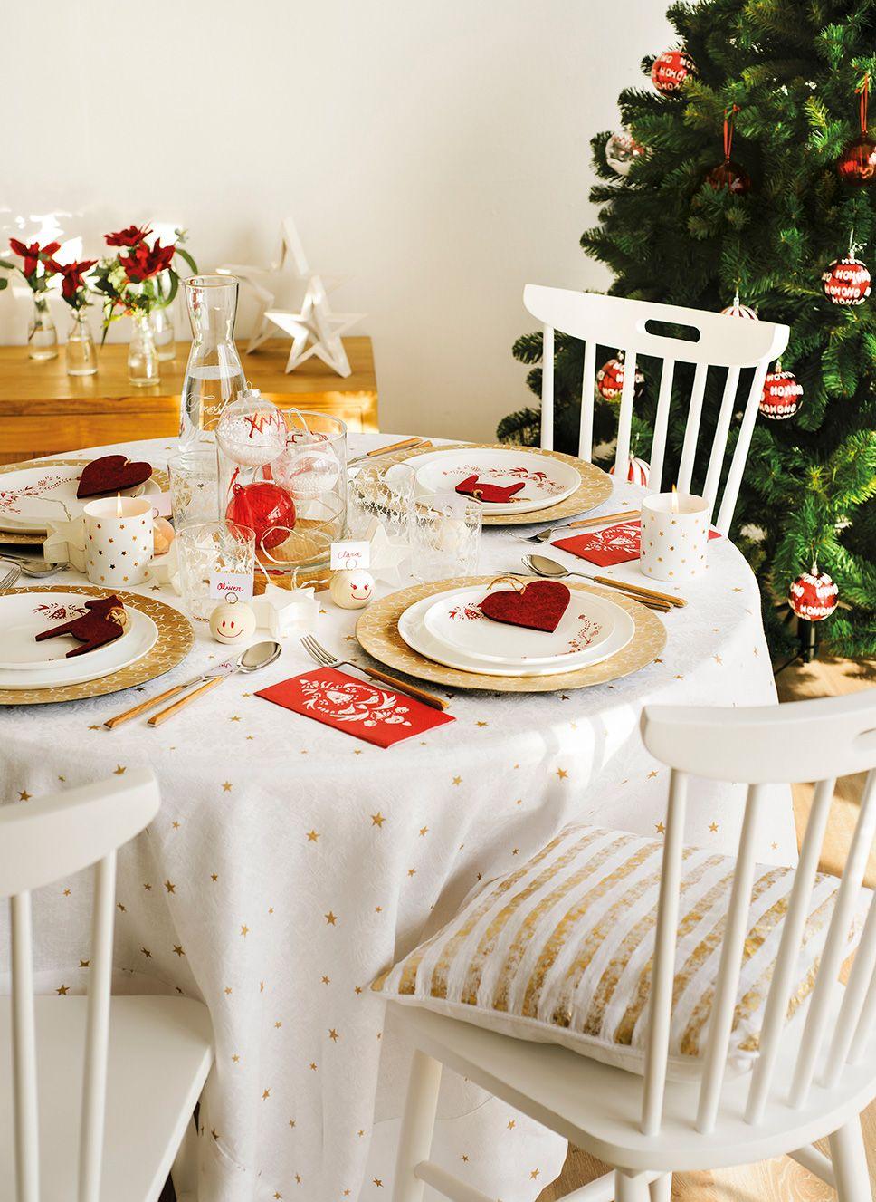 Un Reservado Muy Divertido Decorar Mesas De Navidad Mesa De Navidad Decoracion De Cocina