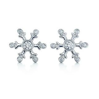 Tiffany Co Snowflake Diamond Earrings In 2019
