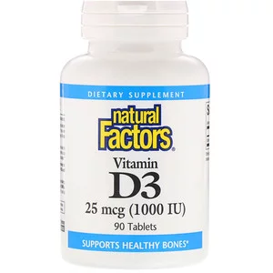 Natural Factors ビタミン D3 1000 Iu 90タブレット Iherb In 2020 Vitamins Vitamins For Vegetarians Vitamin D3