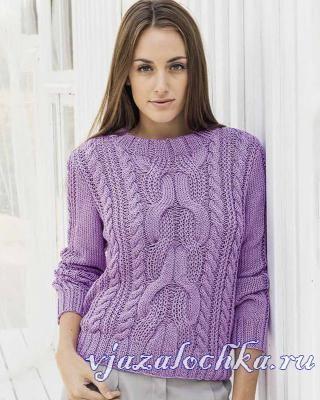 Пуловеры схемы вязание