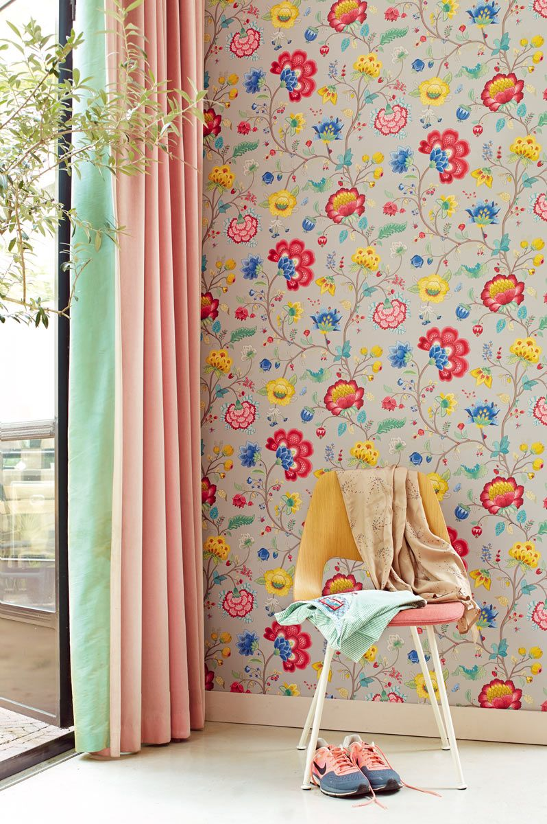 Gorgeous #Floral Fantasy #wallpaper Design By Pip.