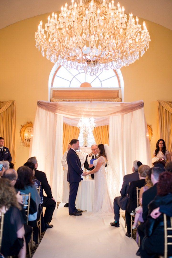 ballroom wedding ceremony idea; Photography by Leandra