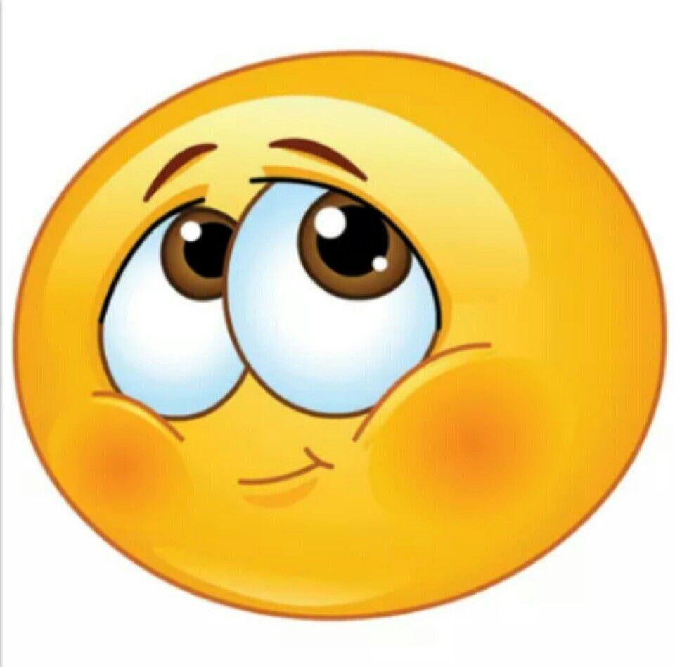 Blushing shy smiley | Facebook emoticons, Emoji pictures ...