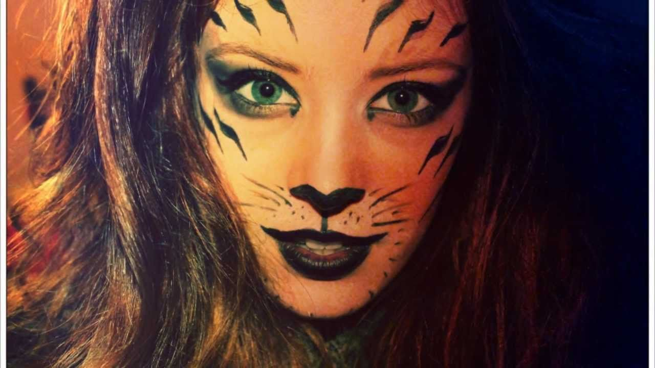 tiger makeup in pictures halloween pinterest tiger