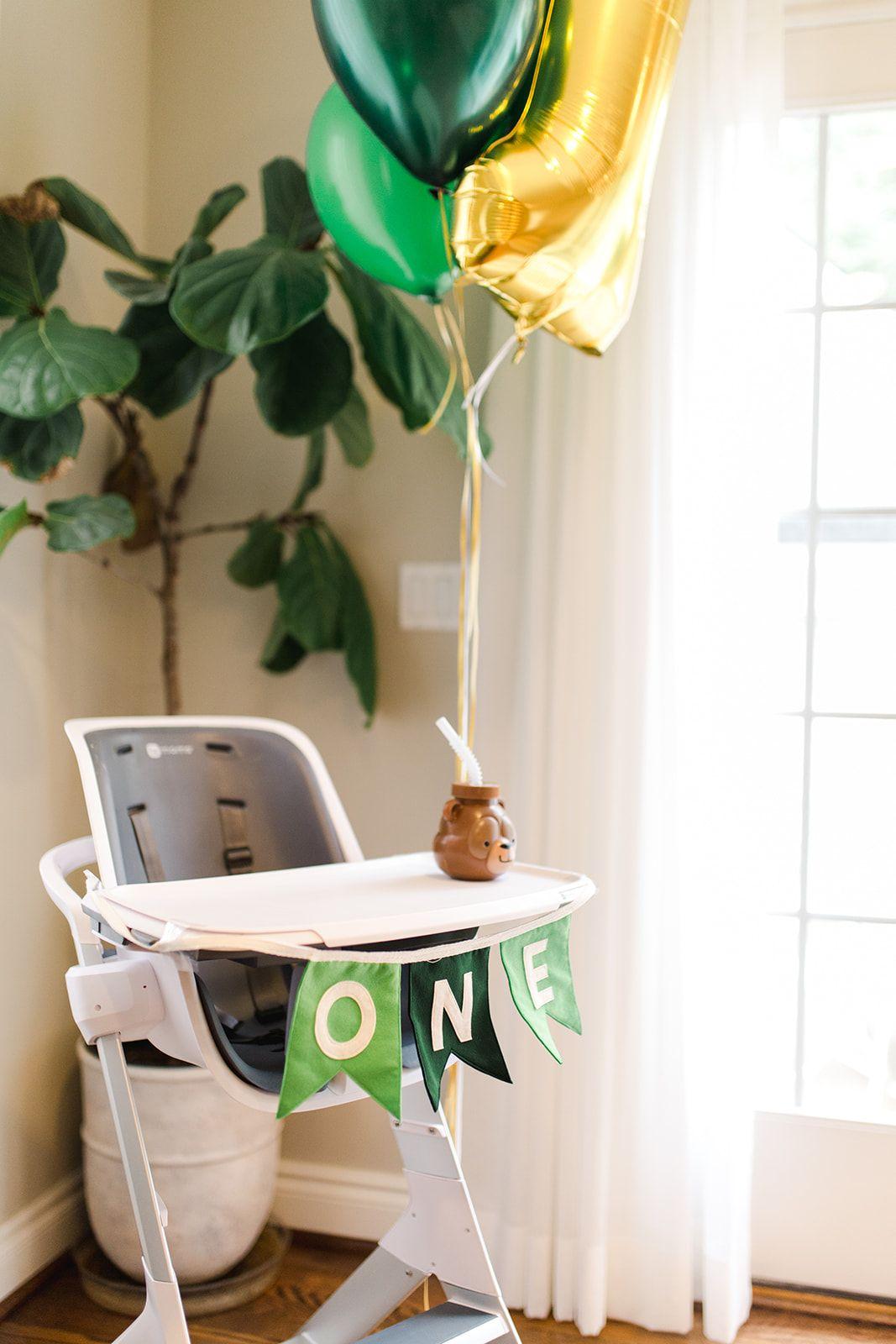 First Birthday Highchair Decorations Birthday Highchair