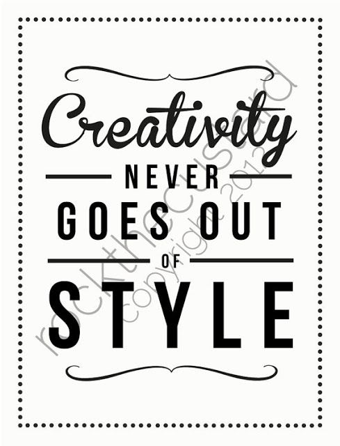 Quotes On Creativity Custom Creativity Quotes Creativity Never Goes Out Of Style . Design Ideas