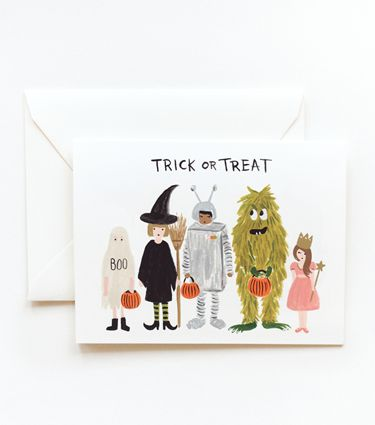 say happy halloween with these 12 spoooooky greeting cards - What To Say In A Halloween Card