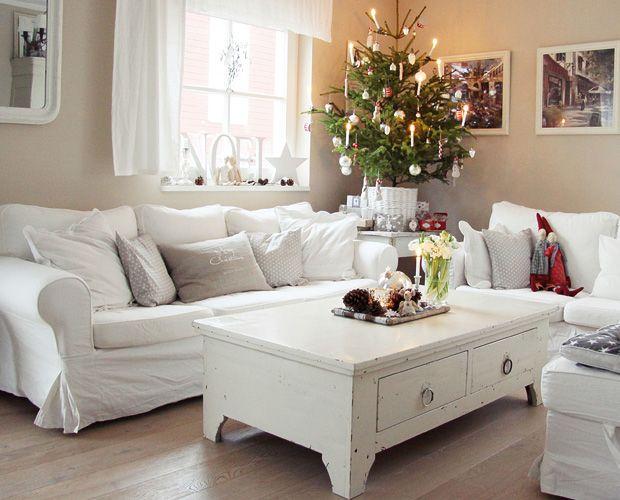 Verliebt in Weiß: Deko-Tipps zur weißen Weihnacht! Lassen Sie sich vom WESTWING-Magazin für eine wundervolle Weihnachtsdeko inspirieren!