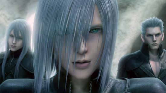 Final Fantasy Vii Advent Children Characters The Three Silver