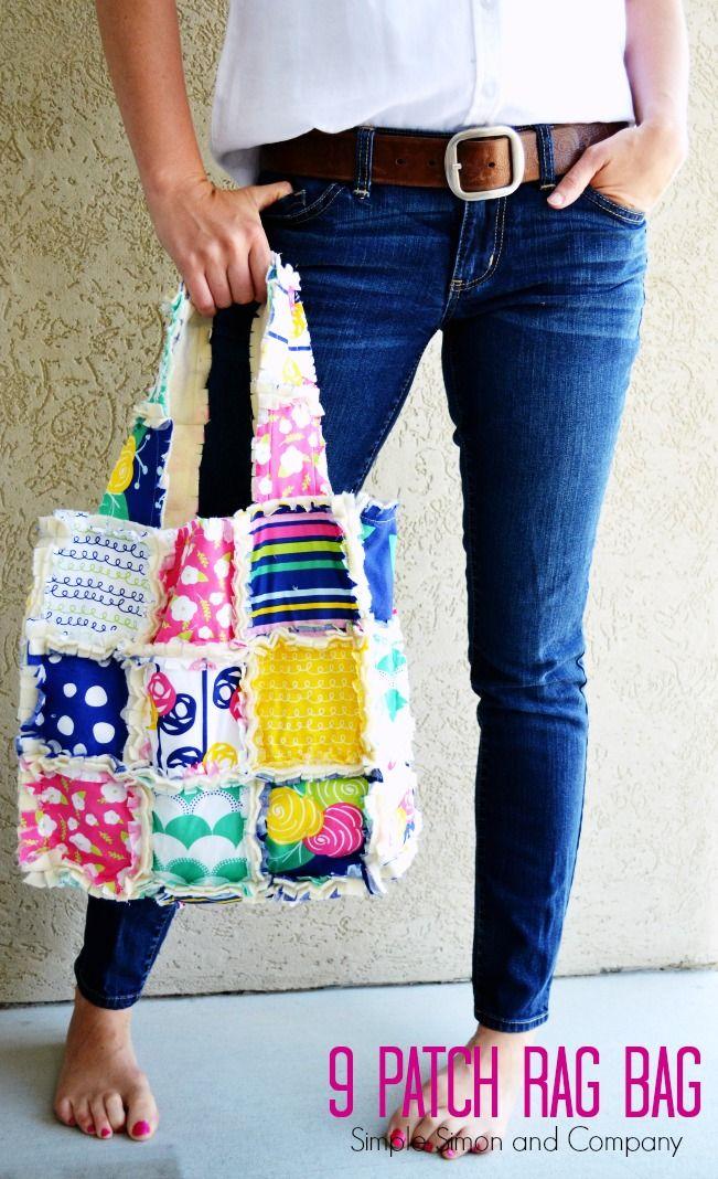 9 Patch Rag Bag || Simple Simon