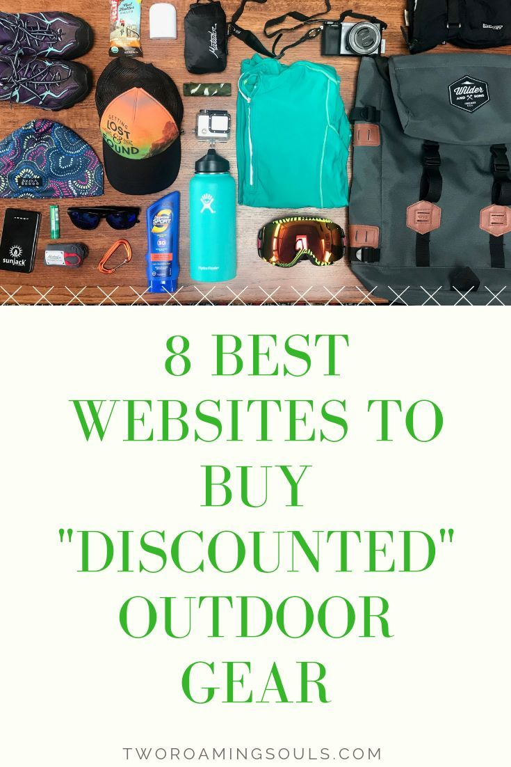 "Photo of 8 Best Websites To Buy ""Discounted"" Outdoor Gear – tworoamingsouls"