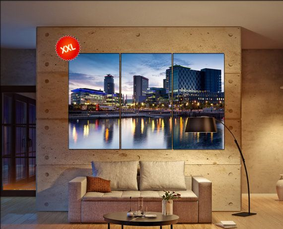 manchester canvas art prints large wall art canvas print manchester Wall Home office decor interior Office Decor