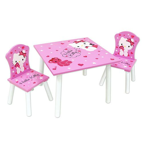 Cute little Hello Kitty table set perfect for my princess but she already got a  sc 1 st  Pinterest & Cute little Hello Kitty table set perfect for my princess but she ...