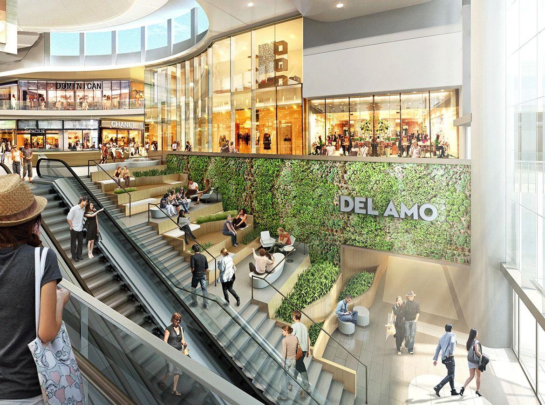 Del Amo Mall Torrance Ca 5 Design Shopping Mall Interior