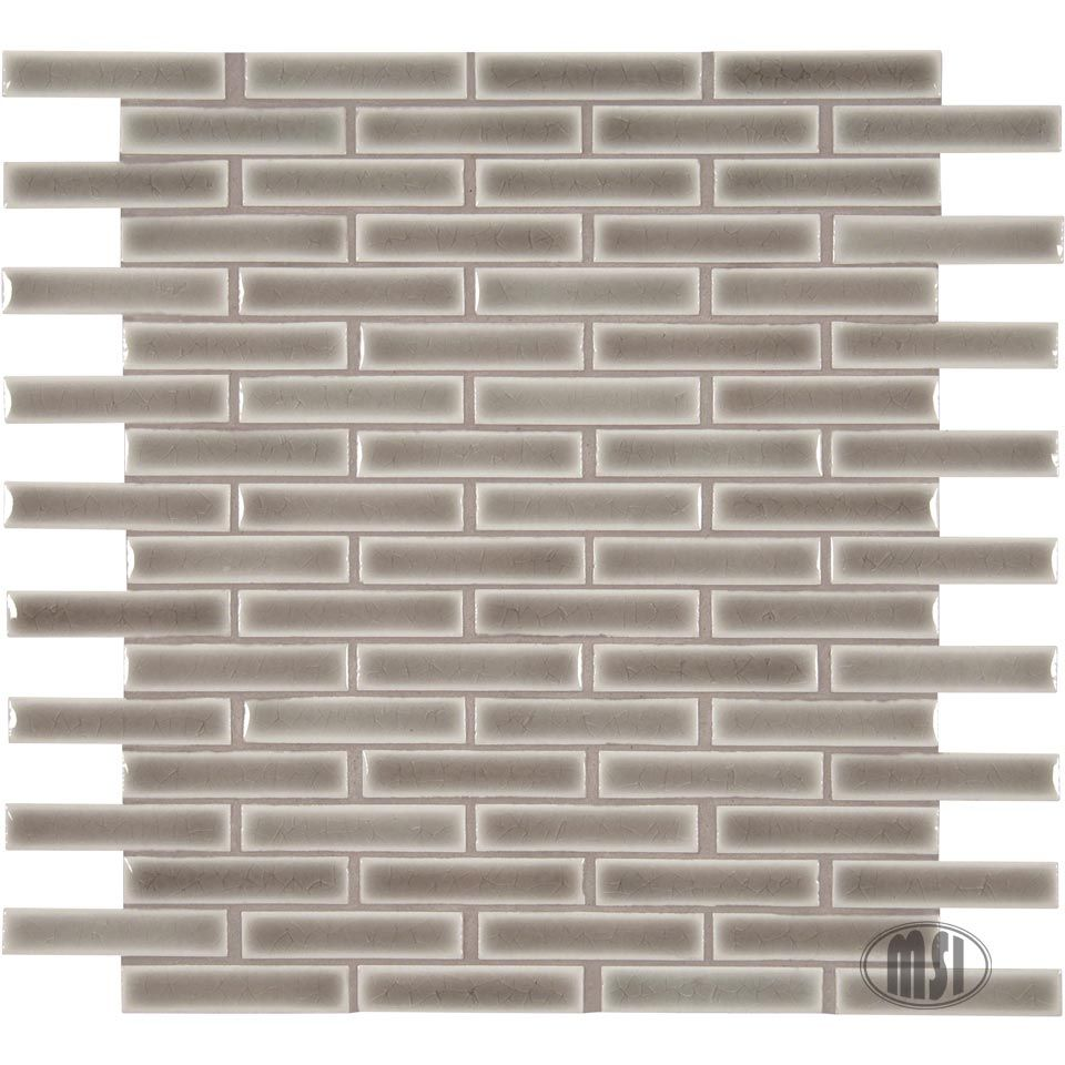 Our new Highland Park Collection is anchored by tried and true subway tiles and complemented by coordinating mosaics. Check out this dove gray brick mosaic...lovely!