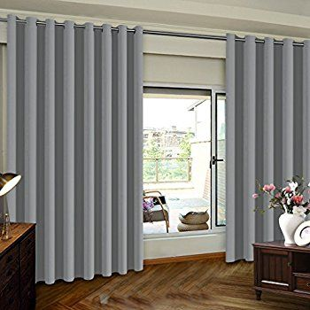 Extra Wide Blackout Grommet Curtain Panel