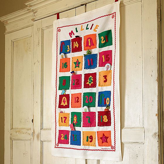 Make-Your-Own Christmas Advent Calendar Advent Pinterest