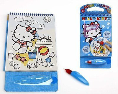 #Hello kitty aqua #magic book -  #colouring book kids children art brush,  View more on the LINK: 	http://www.zeppy.io/product/gb/2/231913287240/