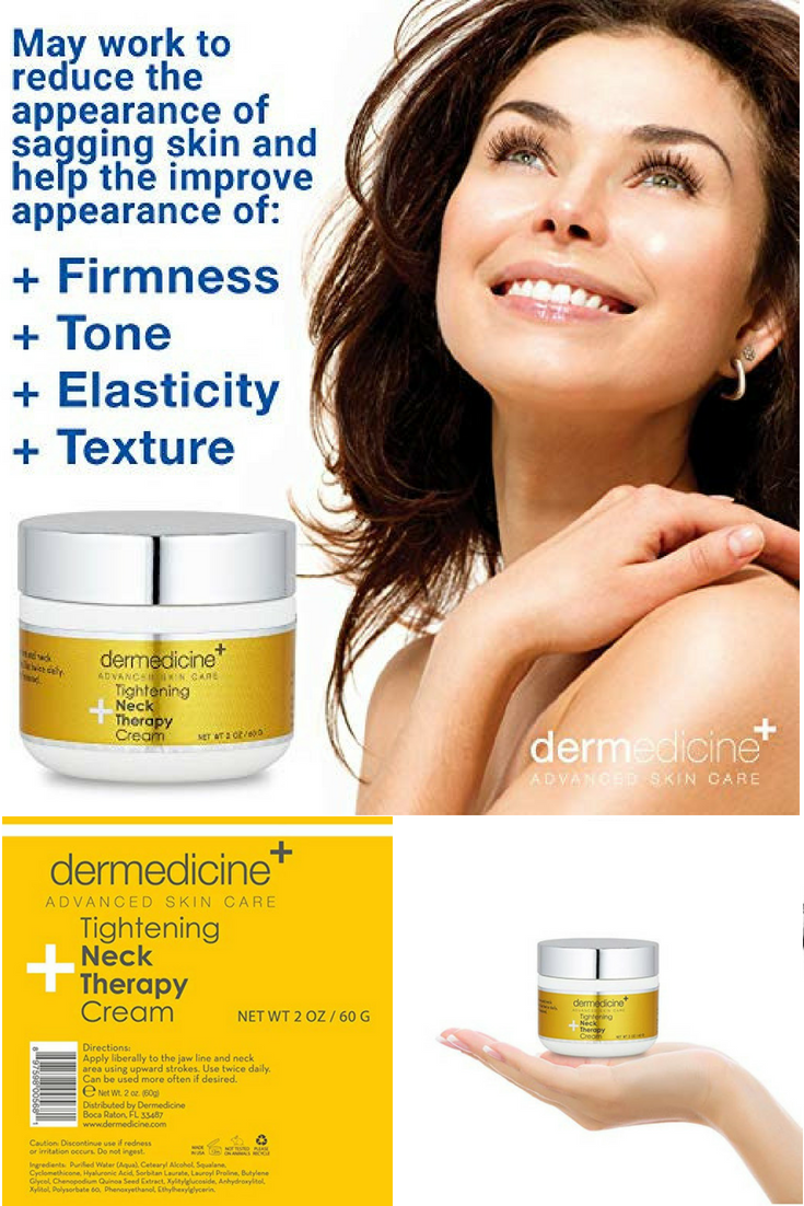 Skincare Tightening Neck Therapy Cream For Face Anti Aging