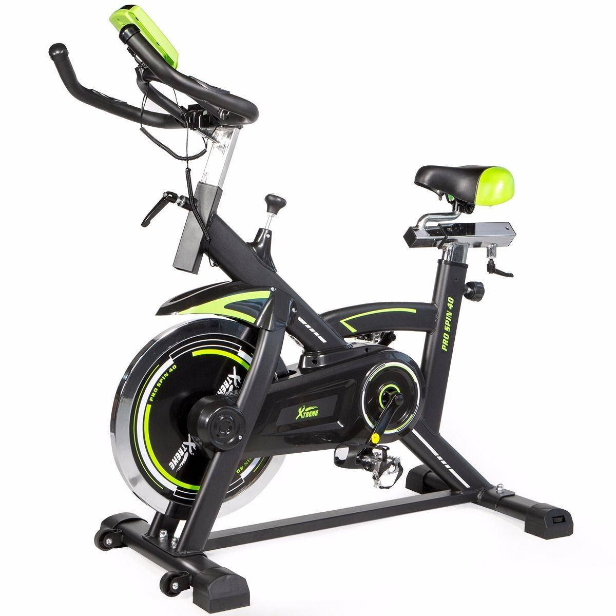 Pro Fitness Stationary Spinning Exercise Bike Cardio Indoor